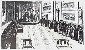 Restauración del absolutismo y persecución de los liberales.