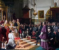 Inicio de las Cortes de Cádiz.