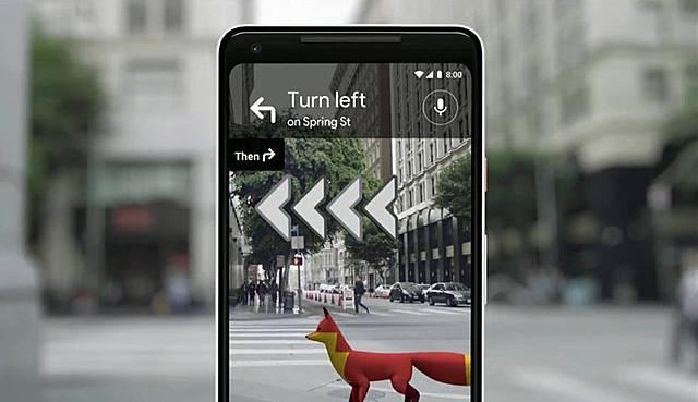 Google Maps: realidad aumentada