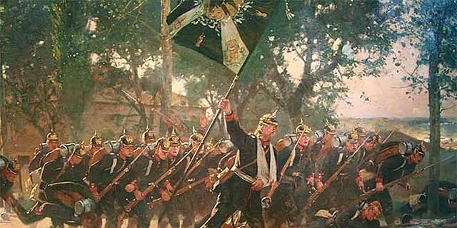 Guerra contra Dinamarca  Unificación alemana