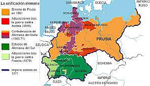 Segundo Reich / Unficación de los territorios  1871 Unificación alemana