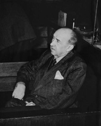 Walther Funk testifies