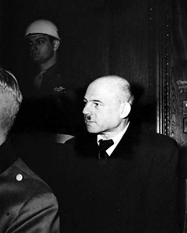 Fritz Sauckel testifies