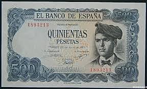 Se fabricaron mis primeros billetes