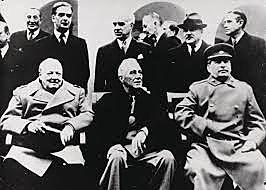 Jaltakonferansen/ Fødselen til den Kalde Krigen