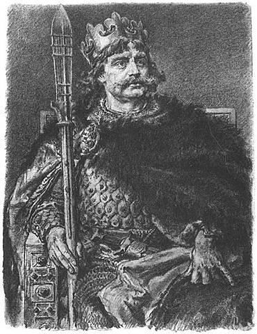 Władcą Polski zostaje Bolesław Chrobry