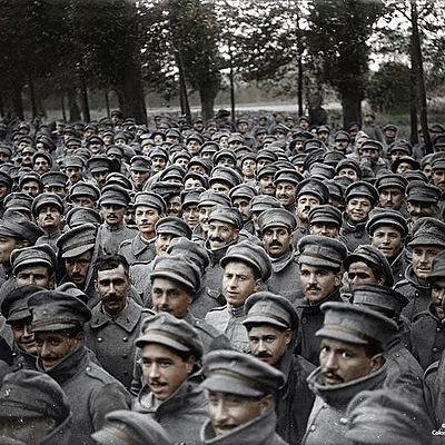 La Prima guerra mondiale (1914-1918) timeline