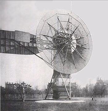Première éolienne