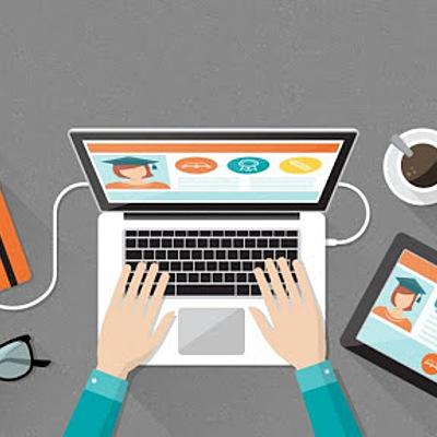 La educación a distancia y el E - Learning timeline