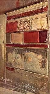 Decoración de la casa samnítica de Herculano