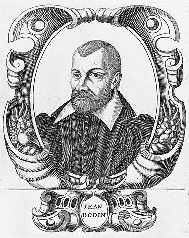Jean Bodin. (1529-1596).