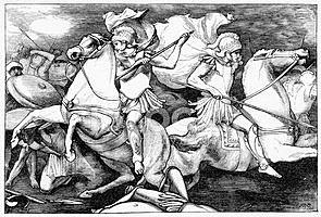 Roma vence a los latinos en la batalla de Lago Regillo