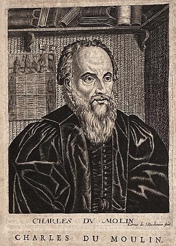 Charles Dumoulin (1500–1566).
