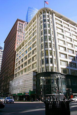 Edificio Carson de Louis Sullivan. (Chicago).