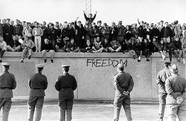 Caiguda del mur de Berlìn