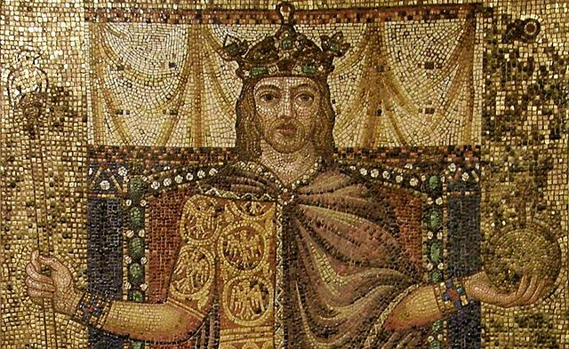 Otto I crowned emperor in Rome