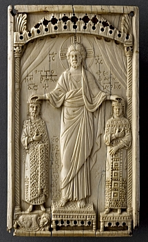 Ivory Plaque with Otto II and Theophano