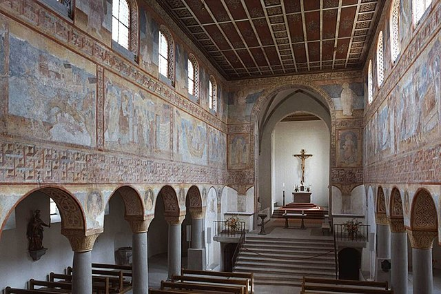 Wall paintings of the Church of St George in Reichenau