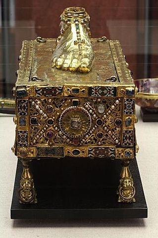 Sandal reliquary of St. Andrew