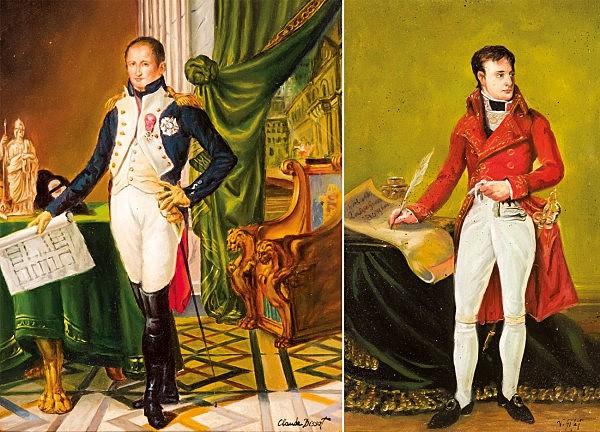 Napoleón Bonaparte y José Bonaparte
