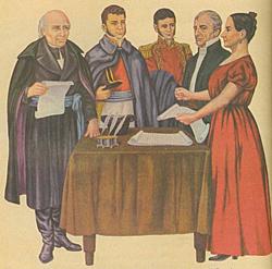 Miguel y Josefa Ortiz de Dominguez