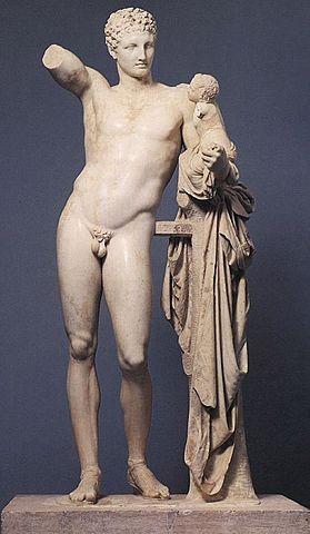 Hermes amb Dionís infant