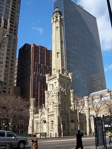 Torre del Agua de Chicago.