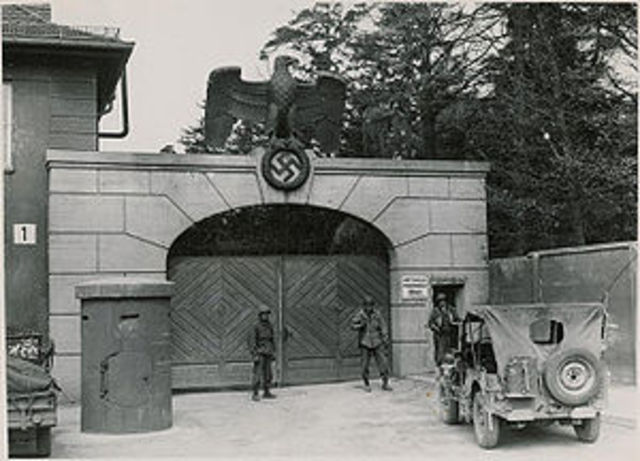 The first concentration camp opens at Dachau