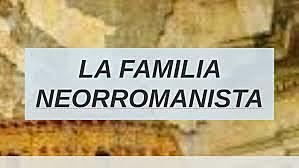 FAMILIA NEORROMANISTA (753 A.C)