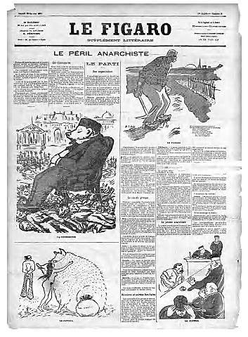 """Le Figaro"".- Periódico de centro derecha."