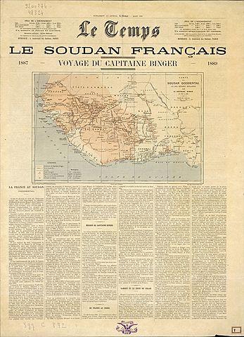 """""""Le Temps"""" - Periodico francés."""