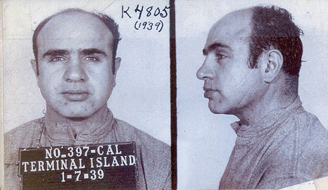 AL Capone is convicted for tax evasion