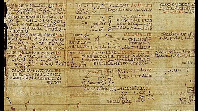 Основным источником наших знаний о древнеегипетской геометрии является относящийся примерно к 1700 до н.э.