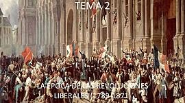 REVOLUCIÓNS LIBERAIS timeline