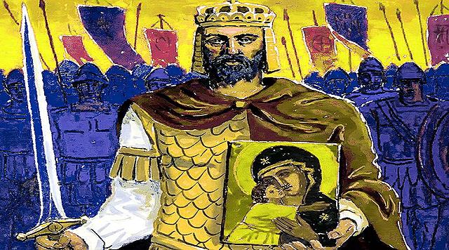 Ο Βασἰλειος Β' ζητἀ βοἠθεια απὀ τον Βλαδἰμηρο