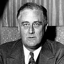 Franklin Roosevelt is elected President of the United States
