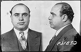 Al Capone is convicted on Tax Evasion