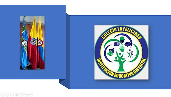 Símbolos institucionales: bandera y escudo