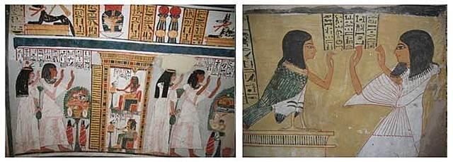 Окрашивание волос в чёрный цвет в Древнем Египте