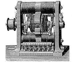 Premier moteur électrique rotatif