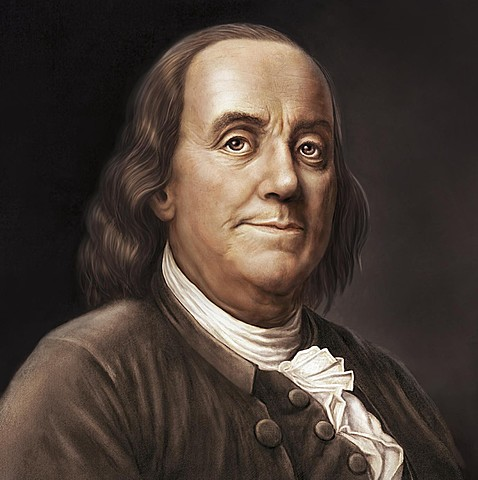 Benjamin Franklin et les paratonnerres