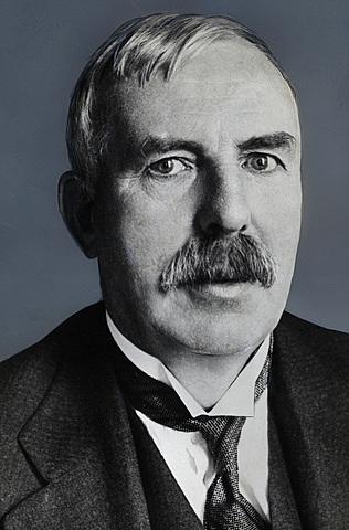 Ernest Rutherford et le noyau atomique