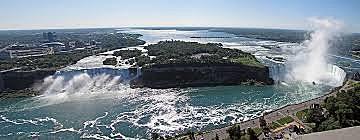 Exploitation des chutes du Niagara par la société de Georges Westinghouse