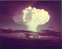 US detonates its first hydrogen bomb