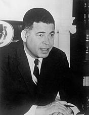 Edward W. Brooke becomes first African American U.S. Senator