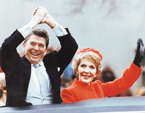 Ronald Reagan elected president of the United States Jan 20, 1981