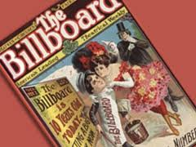 Billboard magazine publishes its first music chart of performed songs