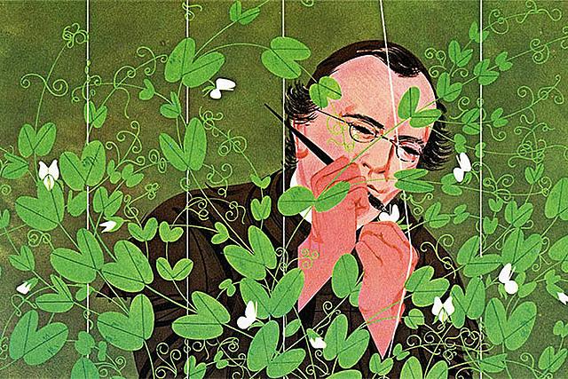 Gregor Mendel: Genetikaren aita.