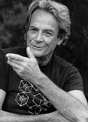Выступление Ричарда Феймана