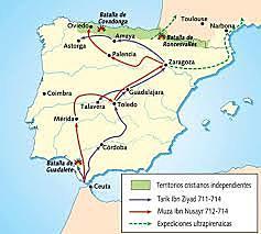 L'ocupació islàmica de la península ibèrica